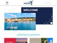 Slika naslovnice sjedišta: Dobrodošli u Supetar (http://www.supetar.hr/)