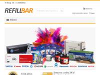 Frontpage screenshot for site: Refill-Bar (http://www.refill-bar.hr/)