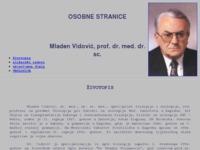 Frontpage screenshot for site: Mladen Vidović (http://www.mladen-vidovic.t-com.hr/)