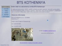 Frontpage screenshot for site: (http://www.bts-kothennya.hr/)