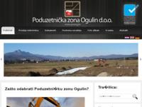Slika naslovnice sjedišta: Poduzetnička zona Ogulin d.o.o. (http://www.pozog.hr/)