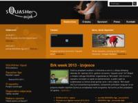 Slika naslovnice sjedišta: Squasher Osijek - squash portal (http://www.squasher.hr)