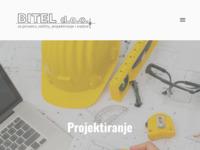 Frontpage screenshot for site: Bitel d.o.o. Zagreb (http://www.bitel.hr)