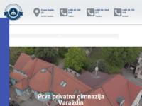Slika naslovnice sjedišta: Prva privatna gimnazija s pravom javnosti Varaždin (http://www.privatna.net/)