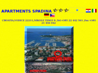 Frontpage screenshot for site: Apartmani u Vodicama (http://free-si.htnet.hr/vodice-apartments)