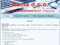 Slika naslovnice sjedišta: Numa d.o.o. Rijeka, knjigovodstvo i računovodstvo (http://www.numa.hr/)
