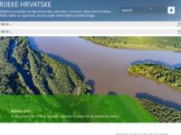 Frontpage screenshot for site: Rijeke hrvatskog krša (http://www.crorivers.com/)