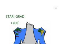 Slika naslovnice sjedišta: Stari grad Okić (http://www.okic.aureldesign.com)