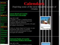 Frontpage screenshot for site: Kalendari (http://www.appleby.net/cal.html)