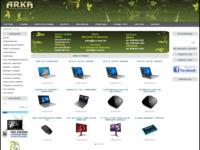 Frontpage screenshot for site: Arka servis (http://www.arka-servis.hr/)