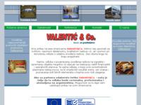 Slika naslovnice sjedišta: Valentić i ostali d.o.o. za graditeljstvo (http://www.valentic.hr)