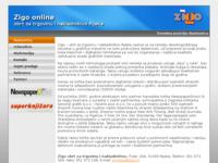 Frontpage screenshot for site: Zigo Rijeka - obrt za nakladništvo i trgovinu (http://www.zigo.hr/)