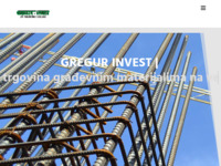 Frontpage screenshot for site: (http://www.gregur-invest.hr/)