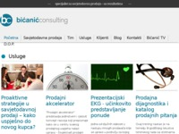 Slika naslovnice sjedišta: Bićanić Consulting - poslovna edukacija (http://www.bicanic-consulting.hr)