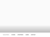 Frontpage screenshot for site: Apartmani Javorić (http://www.apartmani-javoric.com/)
