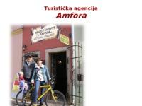 Frontpage screenshot for site: Turistička agencija Amfora Bale-Valle Istra (http://www.amfora-turist.hr/)