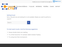 Frontpage screenshot for site: Apartmani Marija i Mate, MTB staze na otoku Rabu (http://www.cts.hr/tedi/)