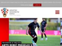 Slika naslovnice sjedišta: HNS - Hrvatski nogometni savez (http://www.hns-cff.hr)
