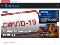 Slika naslovnice sjedišta: Sarvaš kod Osijeka (http://www.sarvas.info)