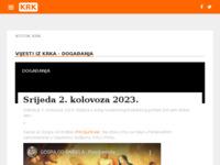 Slika naslovnice sjedišta: Internet portal - Grad Krk (http://otok-krk.org/)