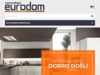Slika naslovnice sjedišta: Eurodom namještaj Rijeka (http://www.eurodom.hr)