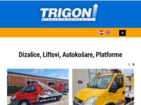 Slika naslovnice sjedišta: Trigon dizalotehnika d.o.o. (http://www.trigon-dizalotehnika.hr/)
