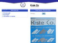 Slika naslovnice sjedišta: Krste Co (http://www.krste.hr)