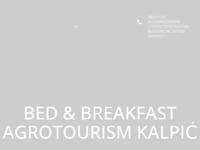 Slika naslovnice sjedišta: Agroturizam Kalpić Damacija (http://www.kalpic.com)