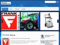 Slika naslovnice sjedišta: Pećnik d.o.o. (http://www.pecnik.hr)