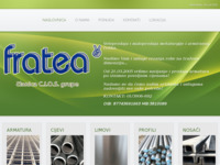 Frontpage screenshot for site: Fratea d.o.o (http://www.fratea.hr/)