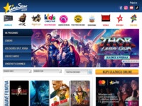 Frontpage screenshot for site: (http://www.blitz-cinestar.hr/)