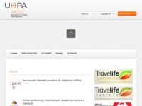 Frontpage screenshot for site: UHPA (http://www.uhpa.hr/)