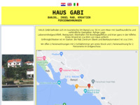 Frontpage screenshot for site: Apartmani Gabi - otok Rab (http://rab-croatia.com/gabi/)