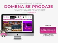Frontpage screenshot for site: Vjenčanje ponuda - web portal za mladence (http://www.vjencanje-ponuda.com)