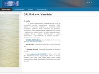 Slika naslovnice sjedišta: Galir d.o.o. Varaždin (http://www.galir.hr)