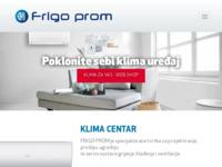 Slika naslovnice sjedišta: Frigo Prom Zadar - Klima centar (http://www.frigoprom.hr)