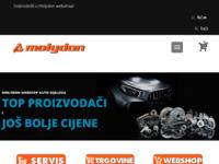 Slika naslovnice sjedišta: Malo i veleprodaja automotiva (http://www.molydon.hr)