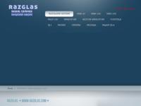 Frontpage screenshot for site: Alien d.o.o. (http://www.razglas.com/)