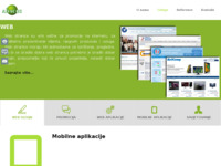 Slika naslovnice sjedišta: Internet poslovna rješenja (http://www.abacus.hr)