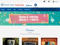 Frontpage screenshot for site: Mozaik knjiga d.o.o. (http://www.mozaik-knjiga.hr/)