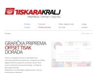 Slika naslovnice sjedišta: Tiskara Kralj (http://www.tiskara-kralj.hr/)