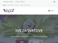Frontpage screenshot for site: Vigus d.o.o. - Vinkovci (http://www.vigus.hr/)