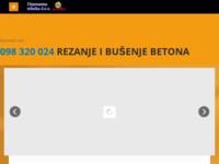 Frontpage screenshot for site: Intrafix d.o.o. za graditeljstvo i inženjering (http://www.intrafix.hr)