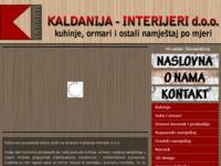 Slika naslovnice sjedišta: kaldanija interijeri (http://www.kaldanija-interijeri.hr)