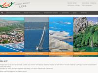Frontpage screenshot for site: Leut (http://www.leut.hr/)