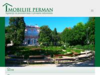 Frontpage screenshot for site: Imobilije Perman (http://www.imobilije-perman.hr/)