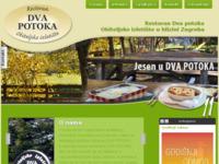 Slika naslovnice sjedišta: Dva potoka, restoran i izletište Zaprešić (http://www.restoran-dvapotoka.hr/)