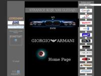 Frontpage screenshot for site: Osobne stranice (http://free-vz.htnet.hr/oko/)