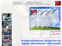 Frontpage screenshot for site: Delovski d.o.o. (http://www.delovski.hr/)