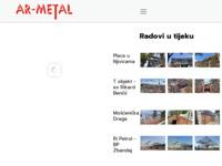 Slika naslovnice sjedišta: Ar-metal (http://www.ar-metal.hr/)
